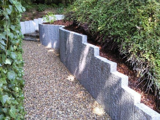 Mauerbau granit galabau martini - Gartengestaltung mit granitsteinen ...
